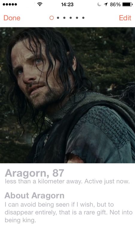 LOTR.Tinder.Aragorn