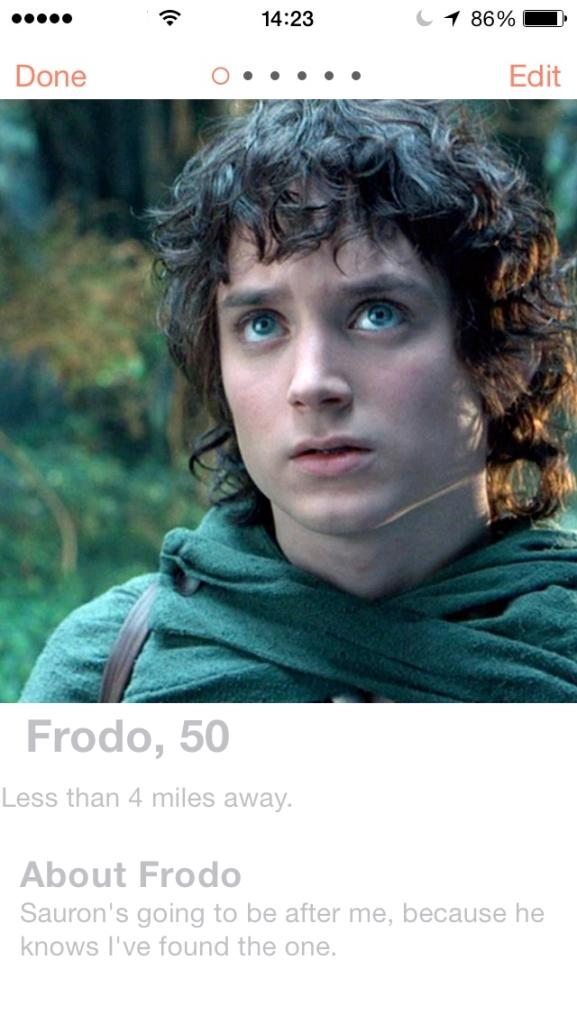 LOTR.Tinder.Frodo