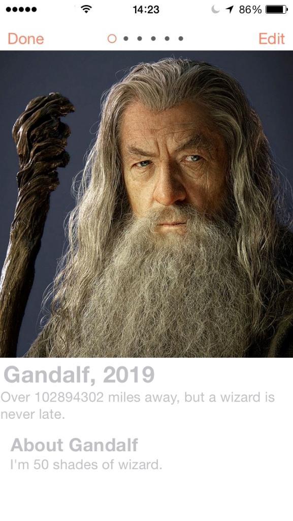 LOTR.Tinder.Gandalf