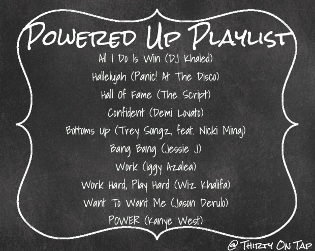 Powered Up Playlist